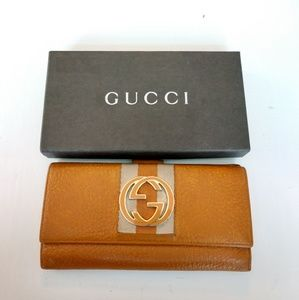 Gucci Bags - Gucci long wallet with box